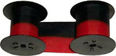 2 Pack Lathem Time Clock Ribbon 7-2c Blackred For All 2000 3000 4000
