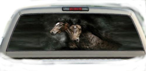 Rear Window Graphics Horses Ebay
