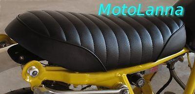 SEAT CLASSIC CAFE <em>YAMAHA</em> SR500 SR400 XS650 CB CAFE RACER BLACK W WHIT