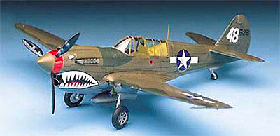 Academy 1:72 P-40 M/N Warhawk Plastic Model Kit 12465