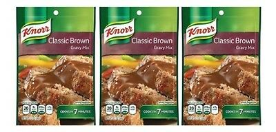 Knorr Classic Brown Gravy Mix 3 Packet Pack
