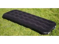 Hi Gear Single Air Bed / Mattress (Black) - Great Condition - Camping - Festivals