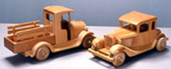 Blueprint instruction plans Antique Autos Woodworking Blueprint Plan