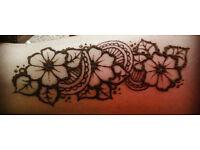 Temporary Henna Tatto