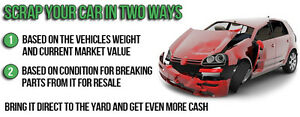Up to 300$ scrap your cars 6136194743