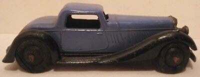 Beautiful Antique Metal Toy Car 3  3/4 Sport Coupe Dinky England 1935