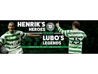 2 Tickets for Lubo v Larsson match.