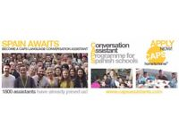 SPAIN - CONVERSATION ASSISTANT IMMEDIATE START (CWL T&A)