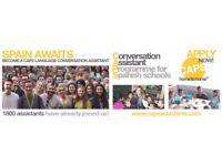 SPAIN - CONVERSATION ASSISTANT IMMEDIATE START (CWL PTE)