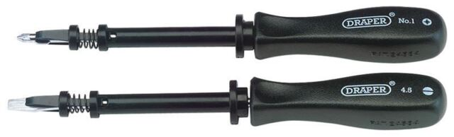 Draper Expert Quality 2 Piece Screw holding Mechanics Screwdriver Set 27591