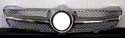 Grill Kühlergrill für Mercedes W219 CLS DUNKEL CHROM INCL.STERN