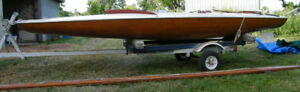 M16 Scow: Melges 116 (1961) w/Melges sails and with trailer