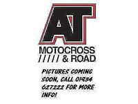 HONDA CRF250 2012 MOTOCROSS BIKE, NEW SPROCKS, SEAT COVER & DECALS (ATMOTOCROSS)