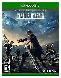 Final Fantasy 15 XV trade xbox one
