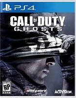 Call of Duty Ghosts game for PS4