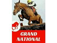 4 English Grand National tickets (Aintree 08/04/2017)