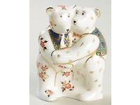 Royal Crown Derby Teddy Bear Hug