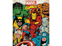 Wanted Marvel And DC Comics