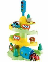 ELC Whizz Down Mountain With Lights & Sounds inc. Transporter & 11 cars. Good Condition. £20 ono.