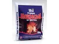Fuel Express Premium House Coal - 10 Kg (Discount pack of 10)