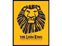 Lion King Tickets for sale