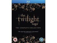 Twilight SAGA - Full 5 Films - Blu Ray