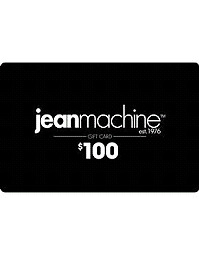 Jean Machine Gift Card. $100 Value For $70
