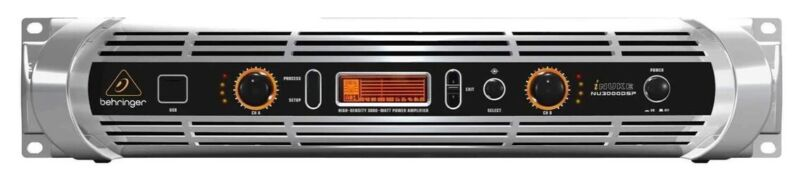 Behringer NU3000 DSP 2-Channel Power Amplifier Immaculate