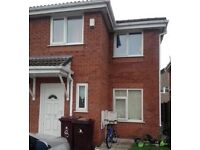 3 bed semi house in Halewood, L26 9WA, gch, d/glazing, fit kit, ensuite, gardens, unfurn, pking