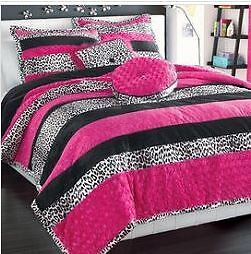 Comforter Double Bed for Teen; Matching Drapes