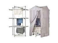 DrySoon 3-Tier Heated Tower Airer (Under 6p / Hour!) Complete with Cover