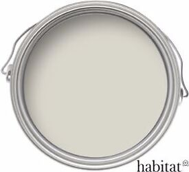 Habitat - 2.5 Litre Multi Surface Matt Emulsion Paint - Canvas
