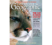 1978 to 1991 Canadian Geographic Paperback Magazines