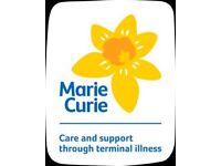 Marie Curie volunteer meeting in West Bridgford