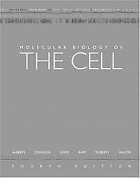Molecular Biology of the Cell Fourth Edition £5!!!