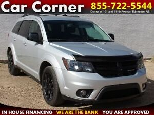2014 Dodge Journey SXT LOADED/LEATHER/DVD/WARRANTY/ONLY$134 B/W!