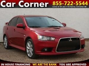2013 Mitsubishi Lancer Ralliart AWD/FACTORY TUNE/LEATHER/SUNROOF