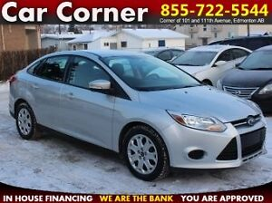 2013 Ford Focus SE Sedan VALUE PRICED $ - ONLY $7988 or $79 B/W!