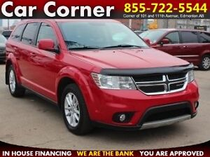 2013 Dodge Journey SXT 7-PASSENGER/DVD/BACKUP CAM/ONLY $98 B/W!