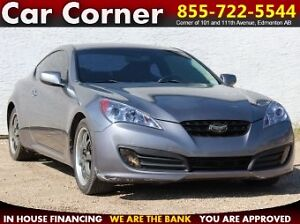 2010 Hyundai Genesis Coupe 2.0T Premium LOADED & FUEL EFFICIENT!