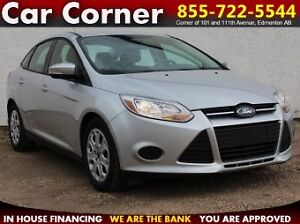2013 Ford Focus VERY LOW KM SE Sedan