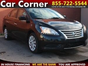 2013 Nissan Sentra SV FUEL EFFICIENT/STYLISH/HEAT-SEATS/$70 B/W!