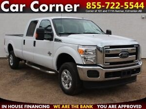 2015 Ford F-350 SD DIESEL NEW TRUCK! XLT Crew Cab Long Bed 4WD
