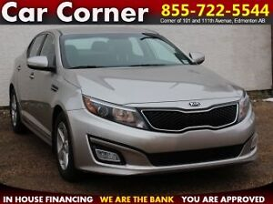 2015 Kia Optima LX /BLUETOOTH/HEATED SEATS/FACTORY WARRANTY!
