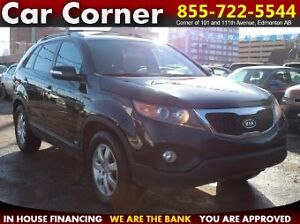 2012 Kia Sorento LX 4WD/SATELLITE RADIO/ONLY $82 Bi-Weekly!