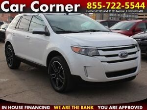 2013 Ford Edge SEL AWD/SAT. RADIO/TOUCH/BACKUP CAM/$153 B/W!