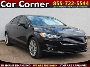 2016 Ford Fusion SE AWD/PARKS ITSELF/LOADED/WARRANTY/$194 B/W!