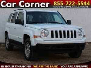 2011 Jeep Patriot 4WD/FUEL EFFICIENT/ONLY $101 B/W!