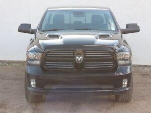 2013 Ram 1500 Sport Crew 4WD/HEMI/TOUCH/NAVI/LEATHER/$244 B/W! Edmonton Edmonton Area image 2