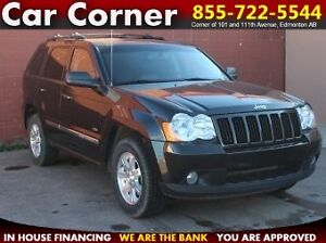 2010 Jeep Grand Cherokee 4WD/LEATHER/TOUCH/SUNROOF/CAM/$115 B/W!